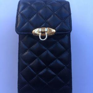 Vintage Jay Herbert New York Black Leather Bag